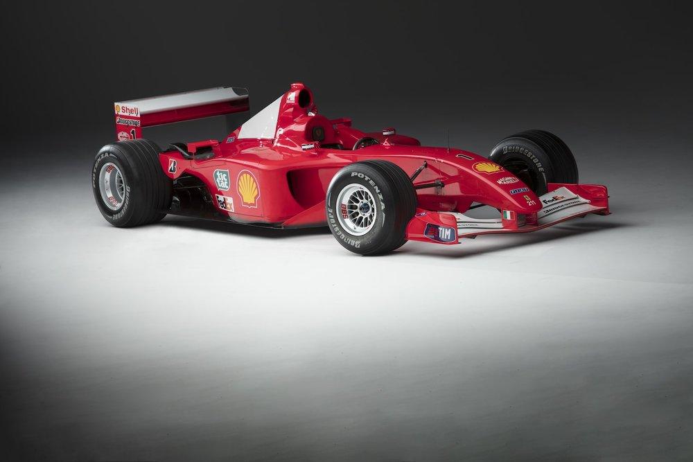 Ferrari F2001 Chassis 211 1