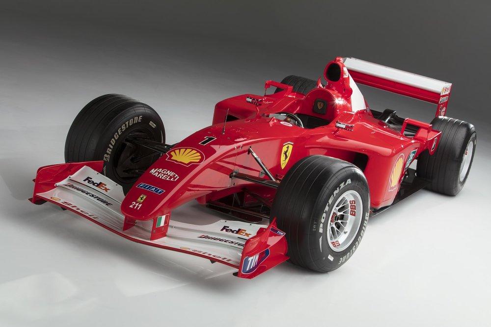 Ferrari F2001 Chassis 211 9