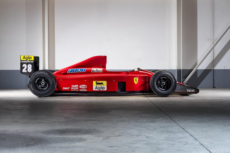 Gerhard Berger's Ferrari 640 F1-89 is for sale