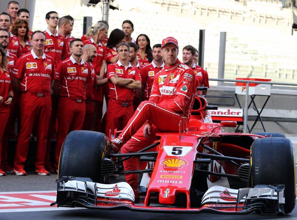 2017 Sebastian Vettel | Ferrari SF70H | 2017 Abu Dhabi GP Family photo 1 copy.jpg