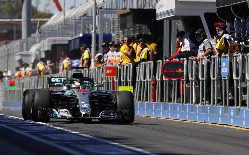 2018 Lewis Hamilton | Mercedes W09 | 2018 Australian GP FP1 1 copy.jpg