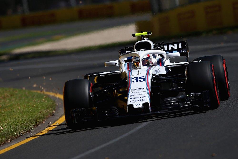 2018 Sergei Sirotkin | Williams FW41 | 2018 Australian GP FP2 1 copy.jpg