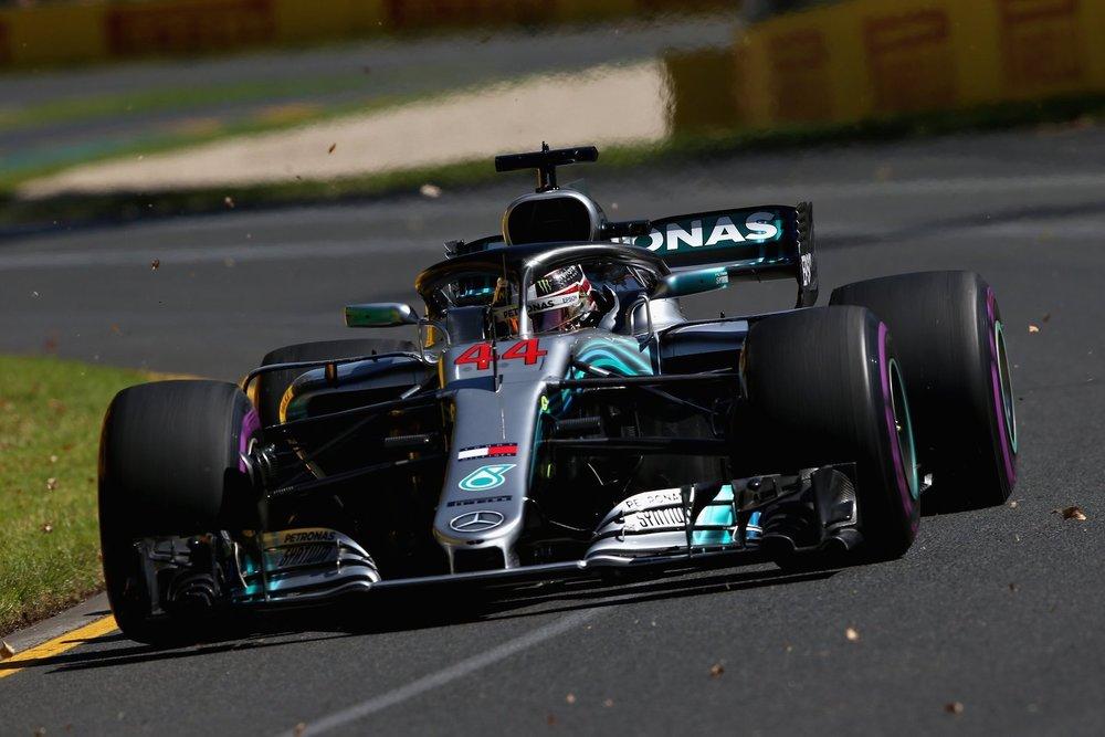 2018 Lewis Hamilton | Mercedes W09 | 2018 Australian GP FP3 2 copy.jpg
