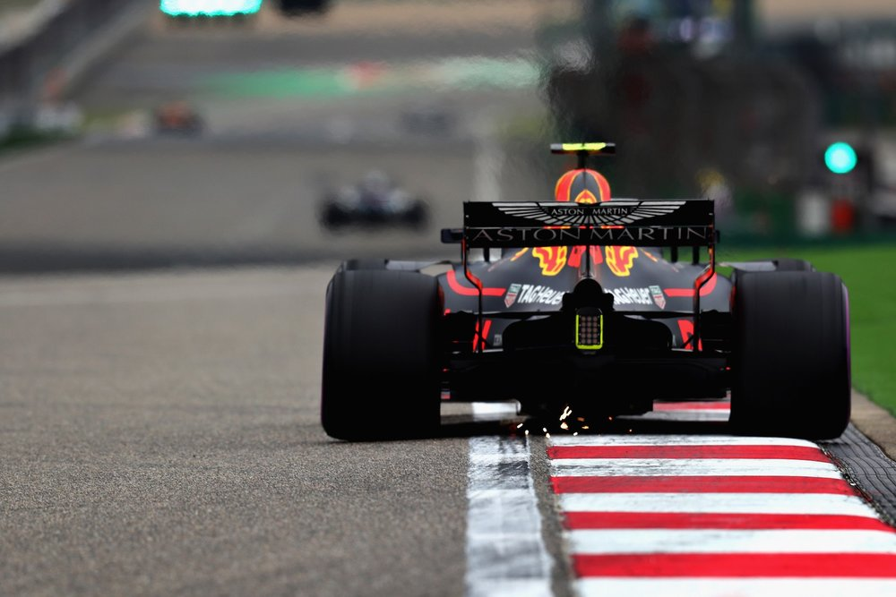 2018 Max Verstappen | Red Bull RB14 | 2018 Chinese GP Q3 1 Photo by Mark Thompson copy.jpg