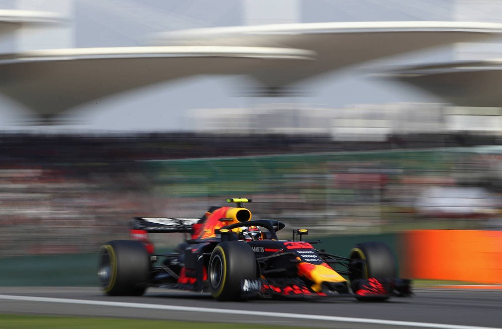 G 2018 Max Verstappen | Red Bull RB14 | 2018 Chinese GP winner 1 Photo by Clive Mason copy.jpg