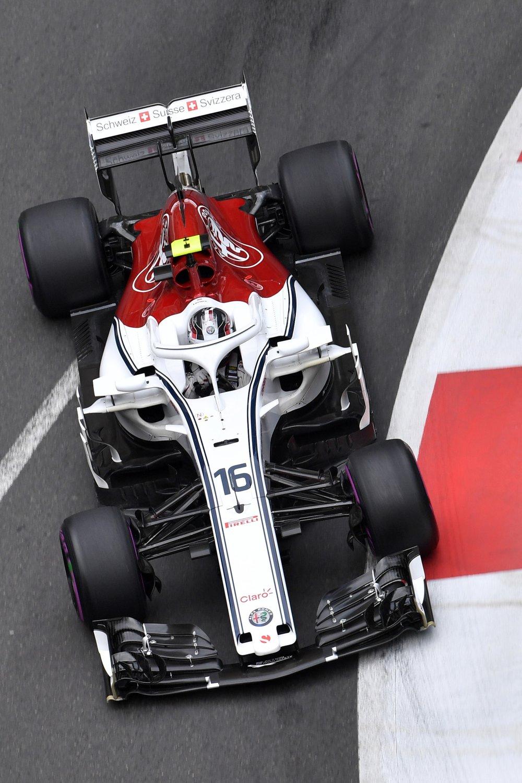 2018 Charles Leclerc | Sauber C37 | 2018 Azerbaijan GP FP3 1 copy.jpg