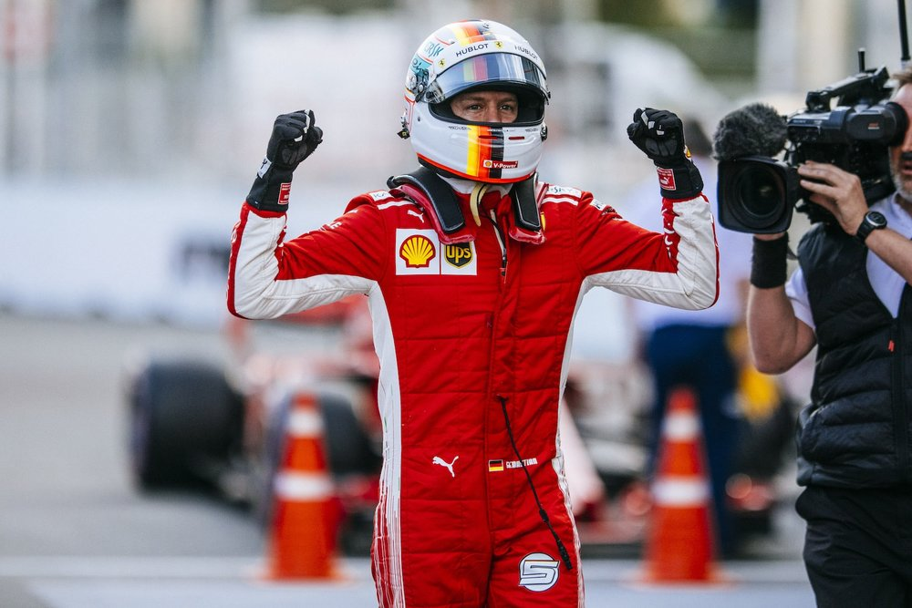 2018 Sebastian Vettel | Ferrari SF71H | 2018 Azerbaijan GP Q3 Pole 4 copy.jpg
