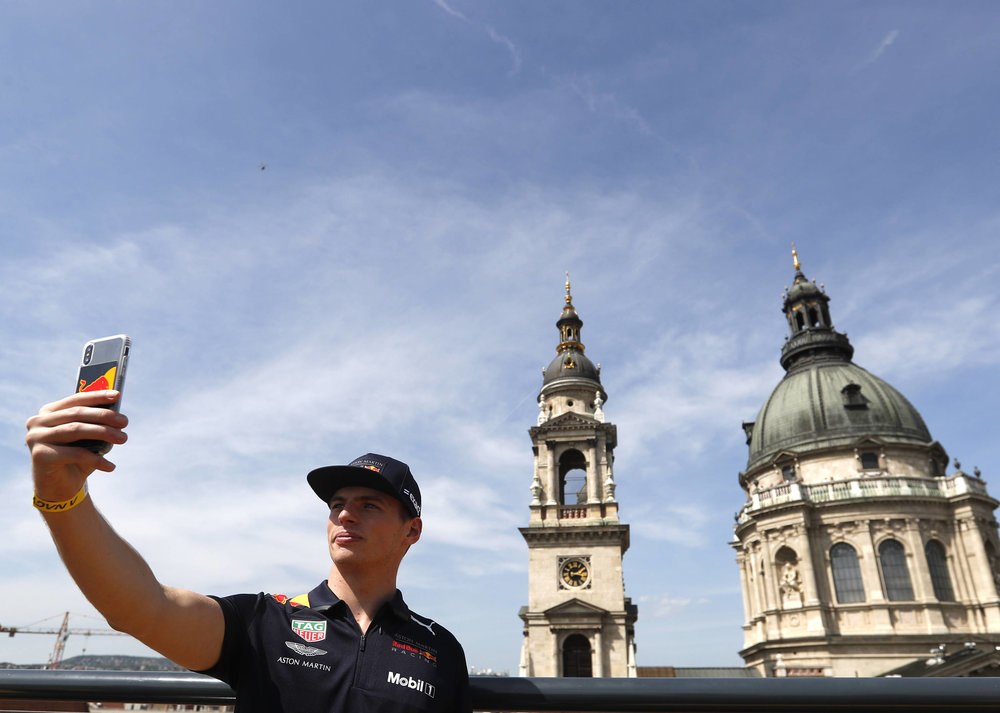 2018 Max Verstappen | red Bull Racing | The Grea Run Budapest 1 Photo by Laszlo Balogh 6.jpg