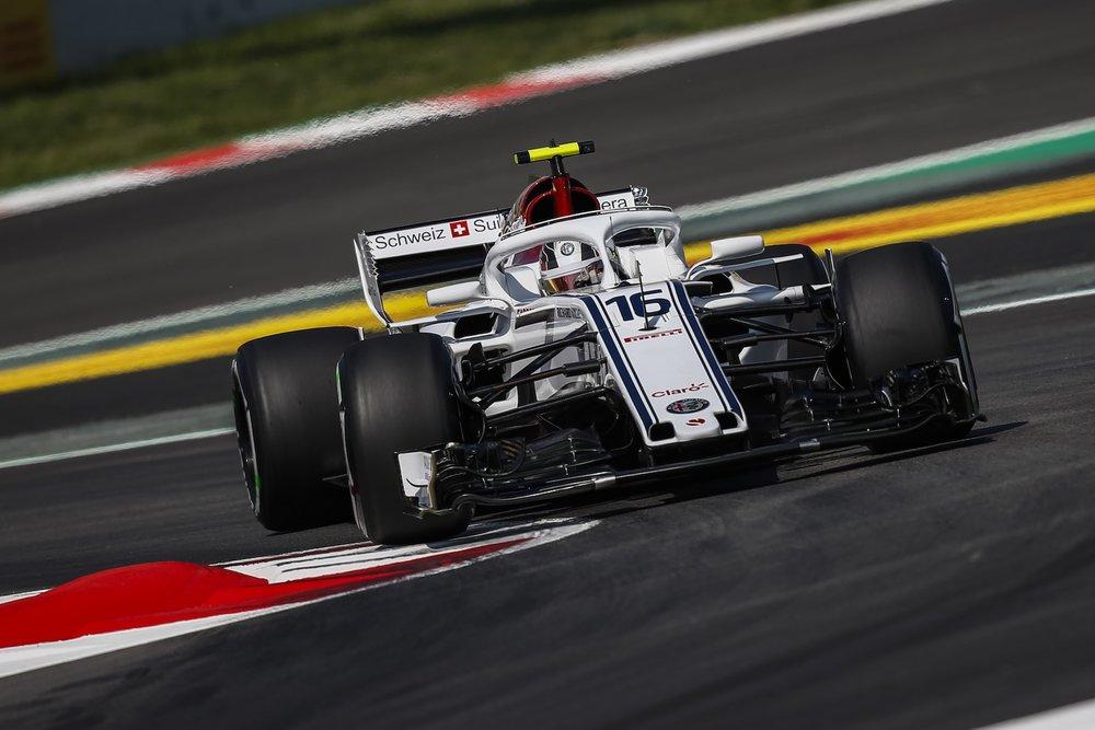 2018 Charles Leclerc | Sauber C37 | 2018 Spanish GP FP1 3 copy.jpg