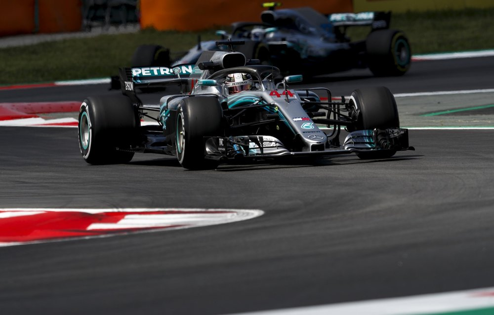 2018 Lewis Hamilton | Mercedes W09 | 2018 Spanish GP FP2 4 copy.jpg