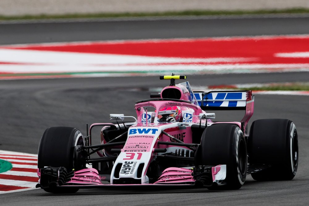 2018 Esteban Ocon | Force India VJM10 | 2018 Spanish GP FP3 1 copy.jpg