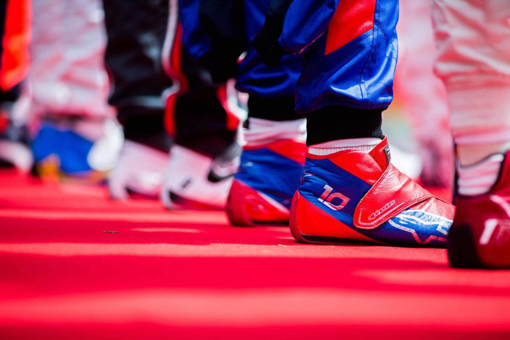 A 2018 Pierre Gasly | Toro Rosso STR13 | 2018 Spanish GP 1 Photo by Peter Fox copy.jpg