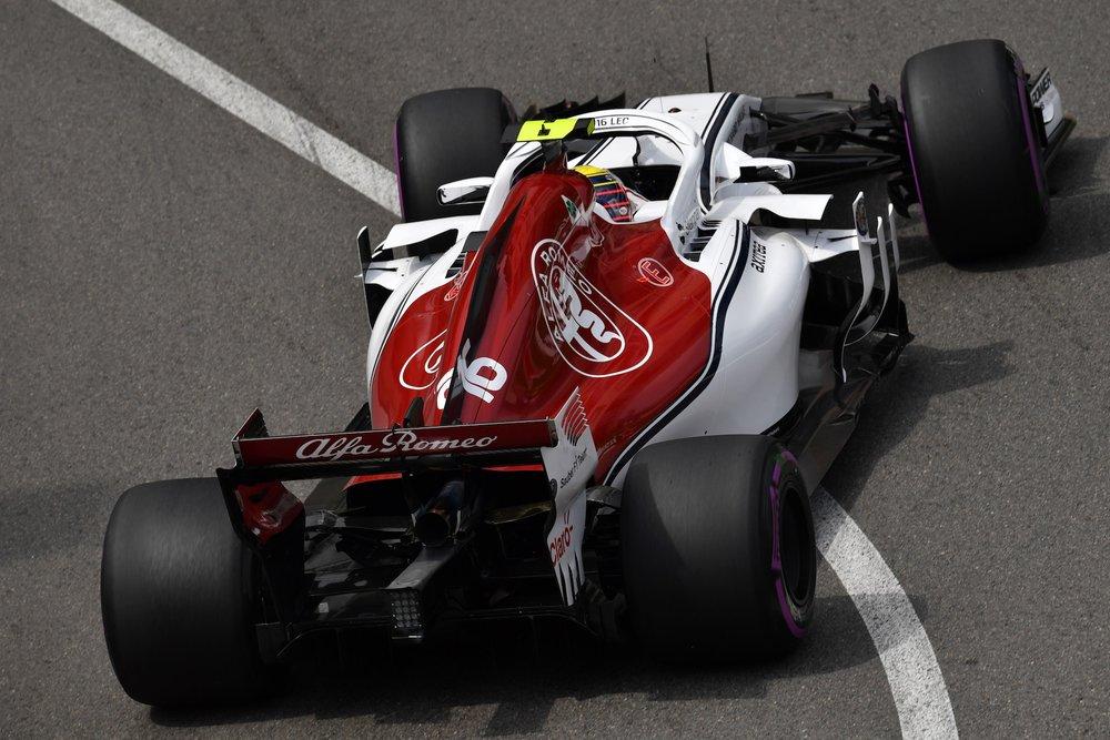 2018 Charles Leclerc | Sauber C37 | 2018 Monaco GP FP2 1 copy.jpg