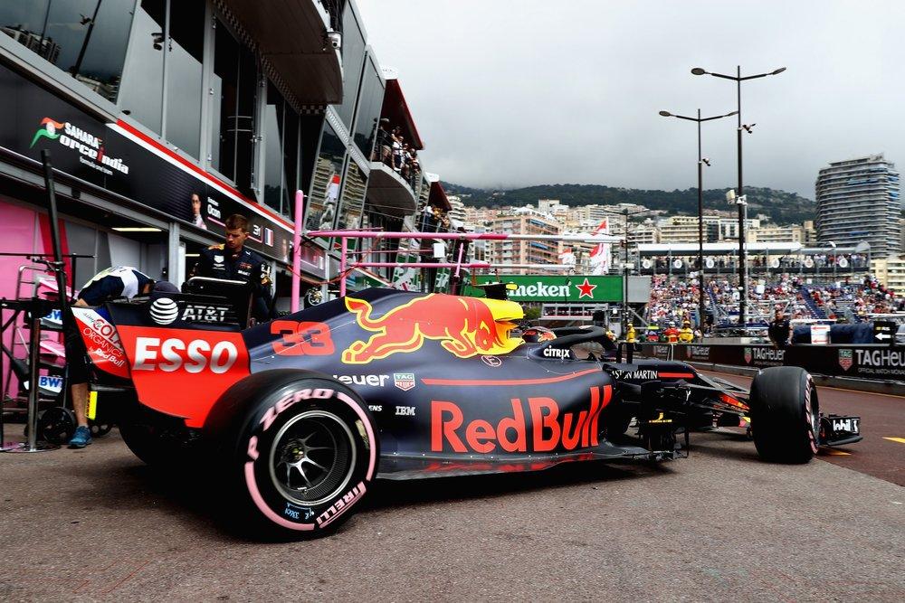 2018 Max Verstappen | Red Bull RB14 | 2018 Monaco GP FP1 2 Photo by Mark Thompson copy.jpg