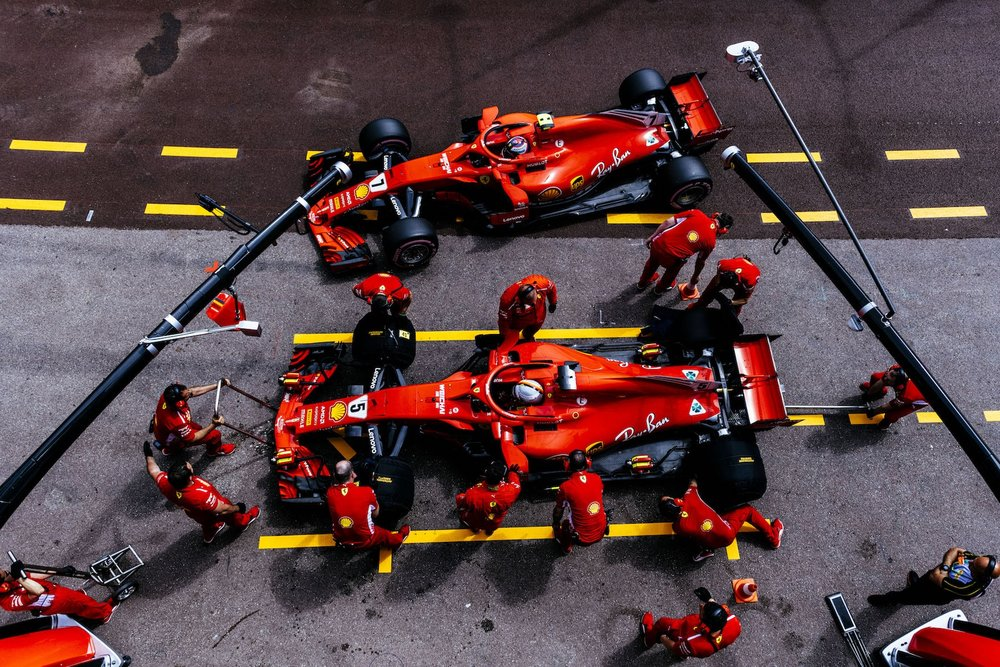 2018 Ferrari teammates | Ferrari SF71H | 2018 Monaco GP FP3 1  copy.jpg