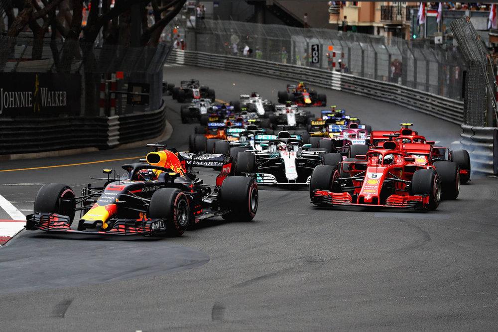 D 2018 Daniel Ricciardo | Red Bull RB14 | 2018 Monaco GP winner 2 Photo by Mark Thompson copy.jpg