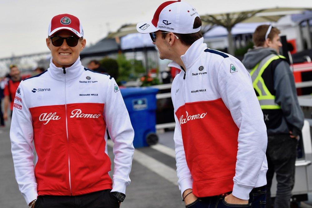 2018 Alfa Romeo Sauber F1 Team drivers | 2018 Canadian GP 1 copy.jpg