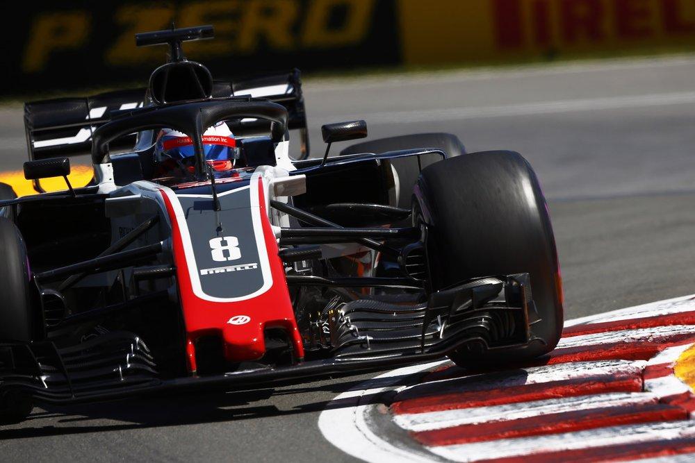 2018 Romain Grosjean | Haas VF18 | 2018 Canadian GP FP2 1 copy.jpg