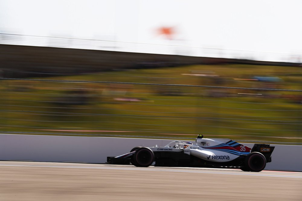2018 Sergey Sirotkin | Williams FW41 | 2018 Russian GP Q1 1 copy.jpg