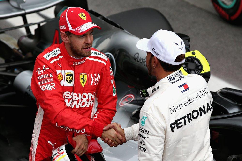 3 2018 Sebastian Vettel congratulates Hamilton for pole | 2018 Brazilian GP copy.jpg