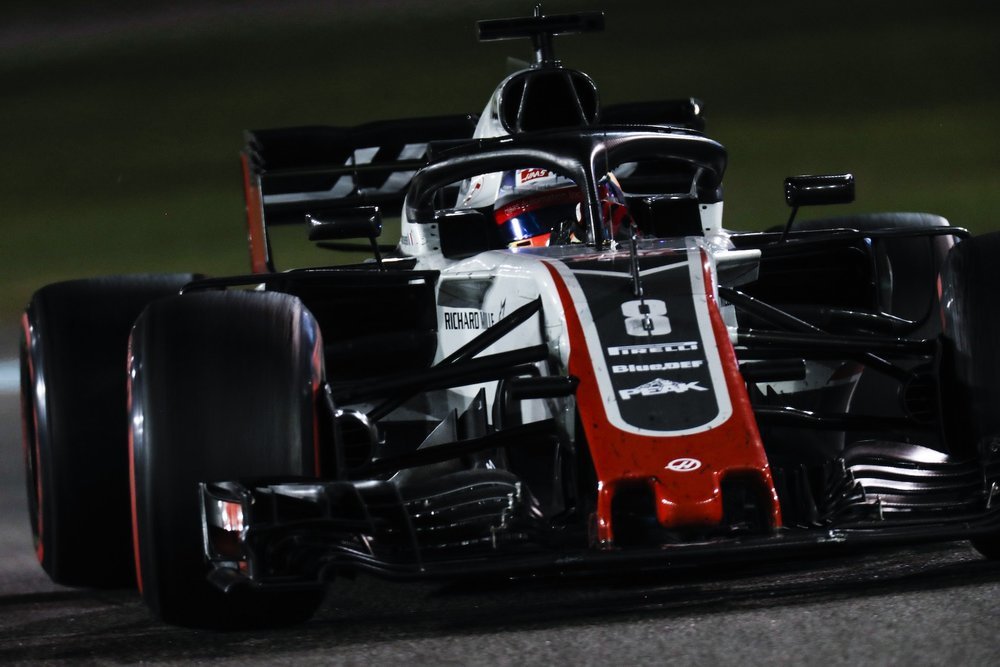 H 2018 Romain Grosjean | Haas VF18 | 2018 Abu Dhabi GP 1 copy.jpg