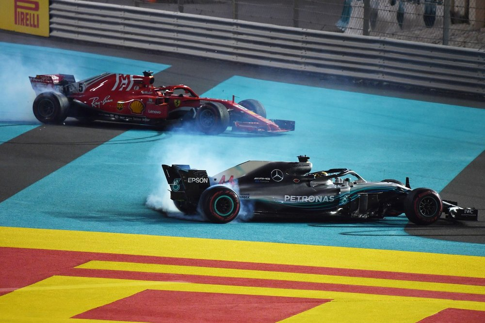 V 2018 donuts from Hamilton Alonso and Vettel | 2018 Abu Dhabi GP 2 copy.JPG