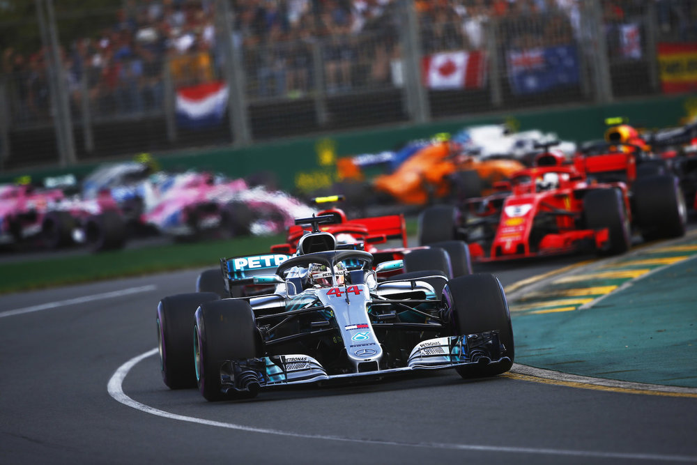 9 - Australian Grand Prix start