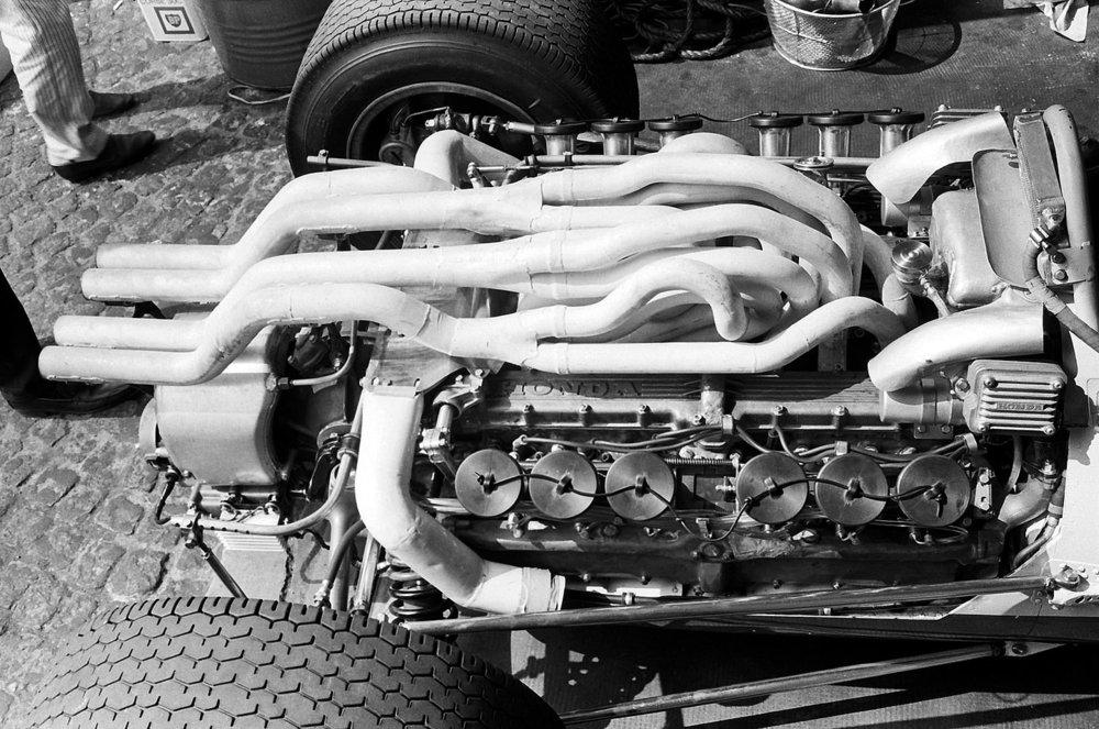 "1967 Honda RA273 ""spaghetti"" exhausts"