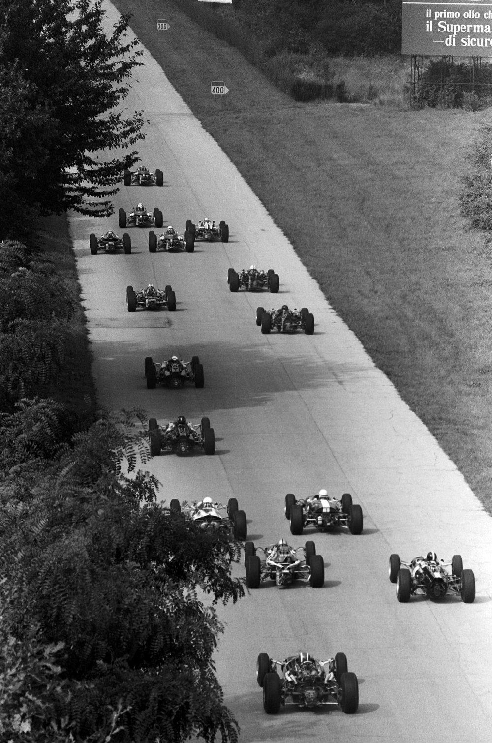1967 Italian Grand Prix race start