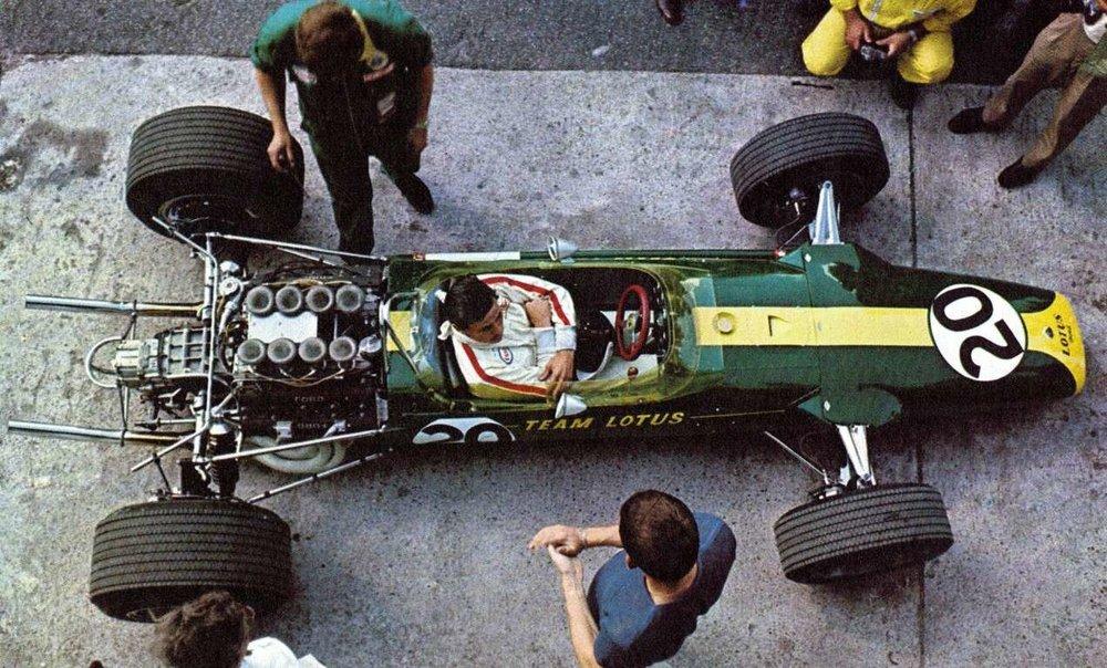 Jim Clark | Lotus 49 | 1967 Italian Grand Prix 2