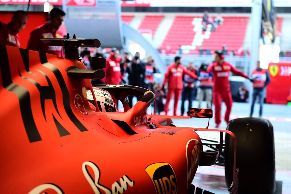2019 Charles Leclerc | Ferrari SF90 | 2019 Barcelona T2 D3 3.jpg