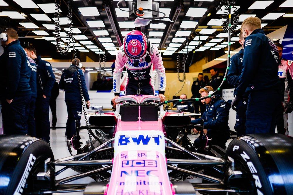 2019 Lance Stroll | Racing Point RP19 | 2019 Barcelona T2 D1 4.jpg