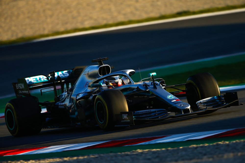 2019 Lewis Hamilton | Mercedes W10 | 2019 Barcelona T2 D4 2.jpg