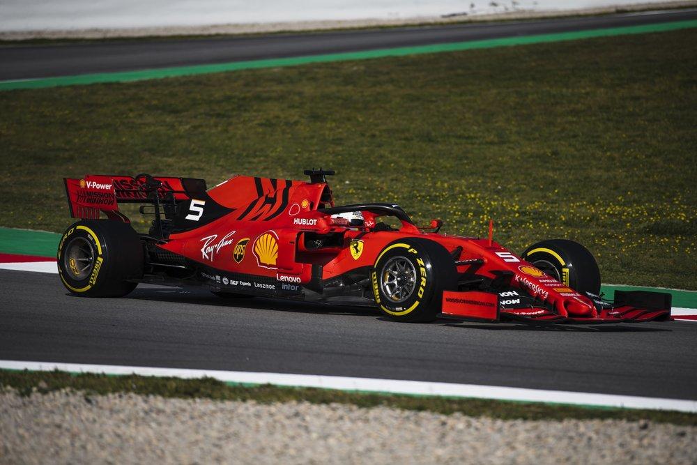2019 Sebastian Vettel | Ferrari SF90 | 2019 Barcelona T2 D4 2.jpg