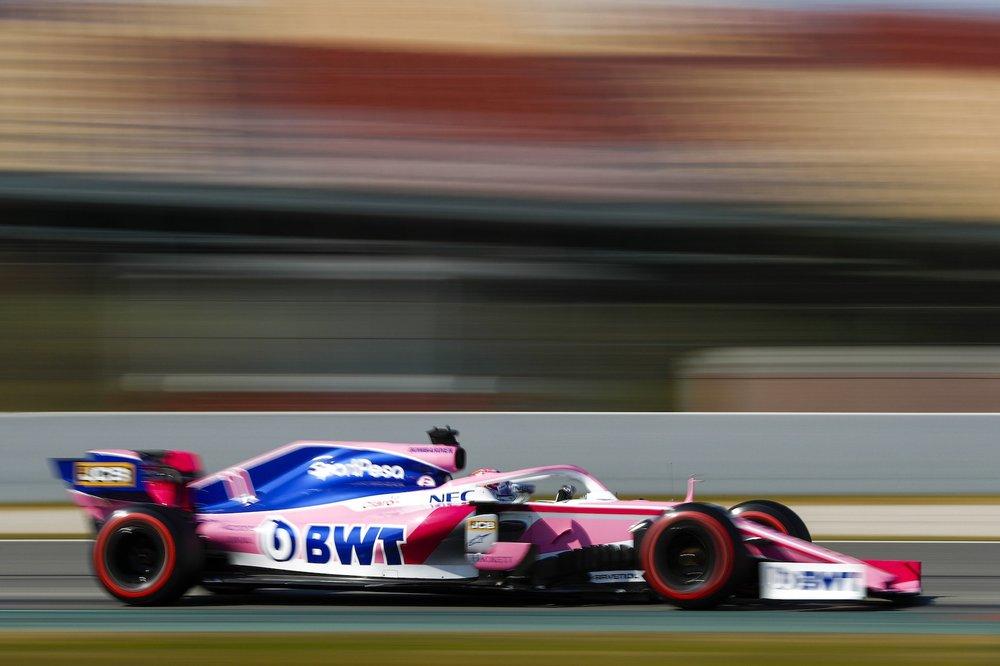 2019 Sergio Perez | Racing Point RP19 | 2019 Barcelona T2 D4 2.jpg