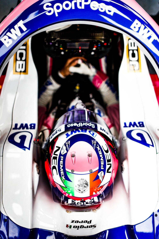 2019 Sergio Perez | Racing Point RP19 | 2019 Barcelona T2 D4 1.jpg