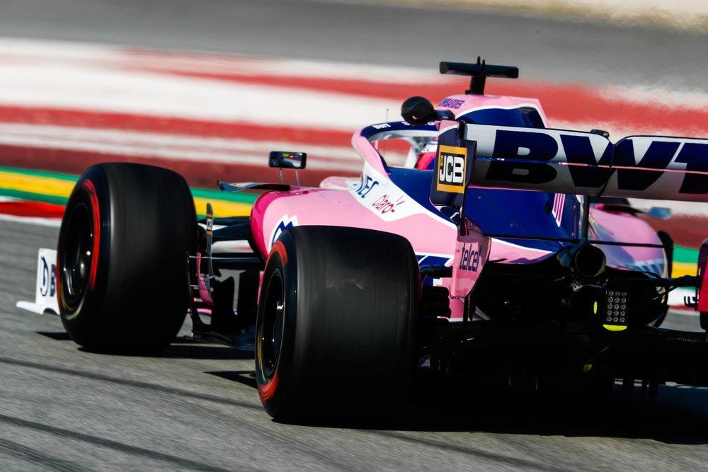 2019 Sergio Perez | Racing Point RP19 | 2019 Barcelona T2 D4 4.jpg