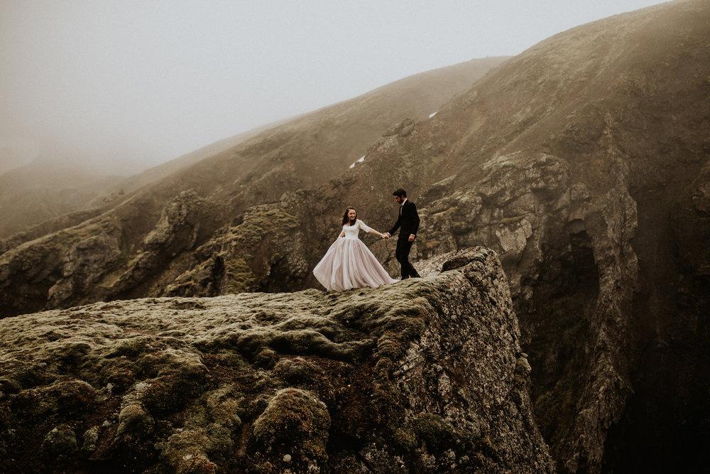 Jessica + Alex - Vik, Iceland