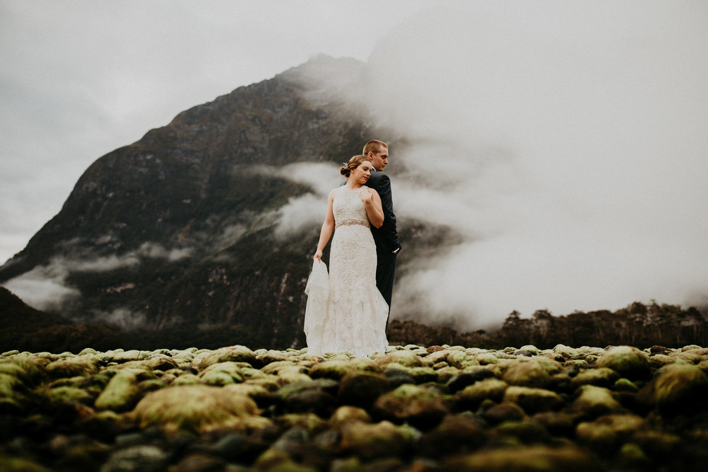 Heather + Bryant - Fiordland, New Zealand