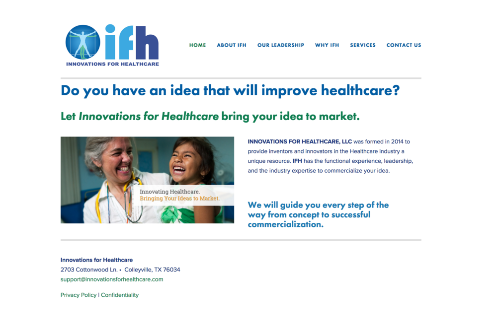 Innovations for Healthcare