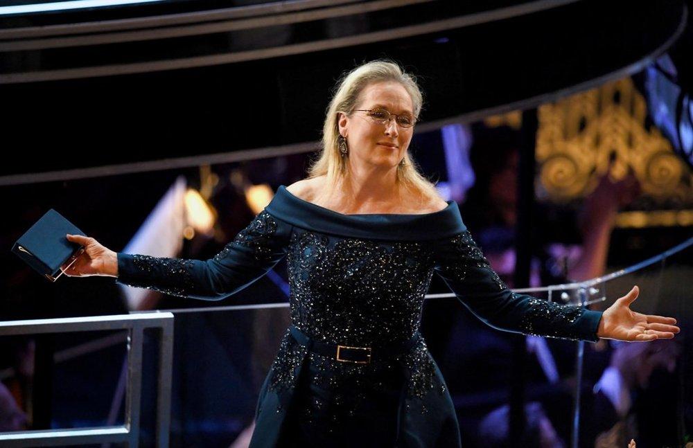 Meryl Streep in Elie Saab
