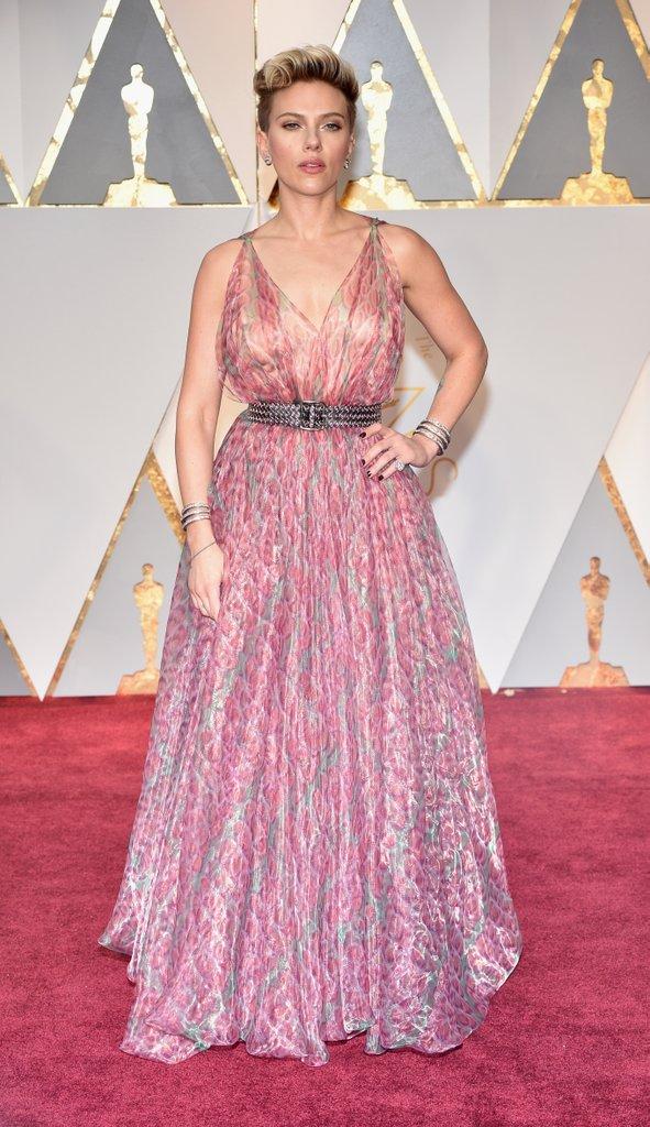 Scarlett Johansson in Alaia
