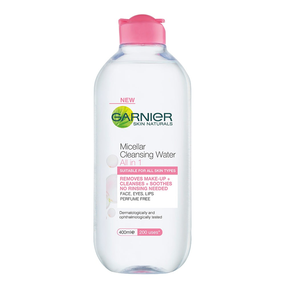 Garner Micellar Cleansing Water is $9.95