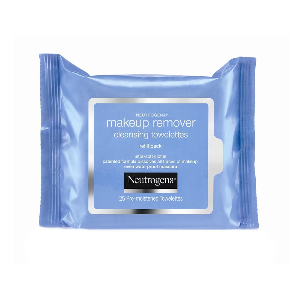 Neutrogena Make Up Remover Cleansing Wipes are $6.99