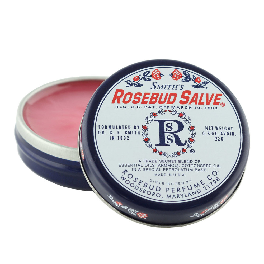 Smith's Rosebud Lip Balm is $8.95