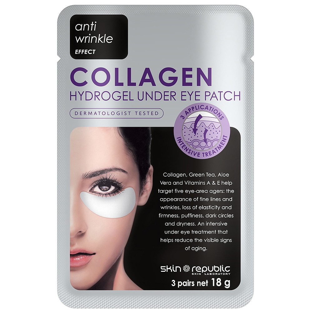 Skin Republic Collagen Eye Patches are $9.95