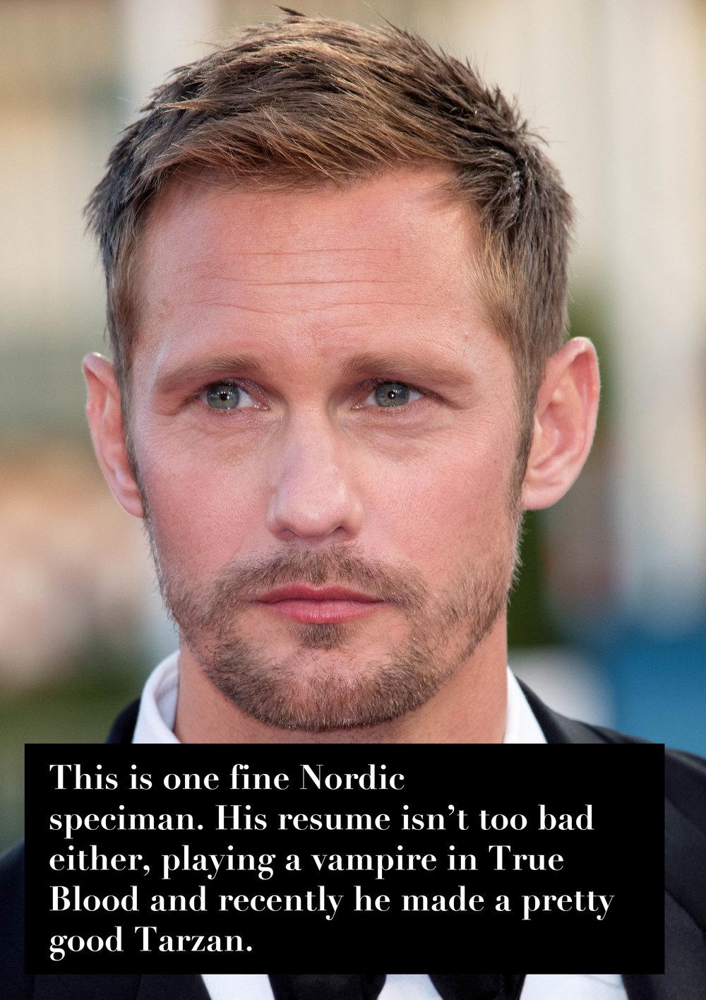 Alexander Skarsgård, 40