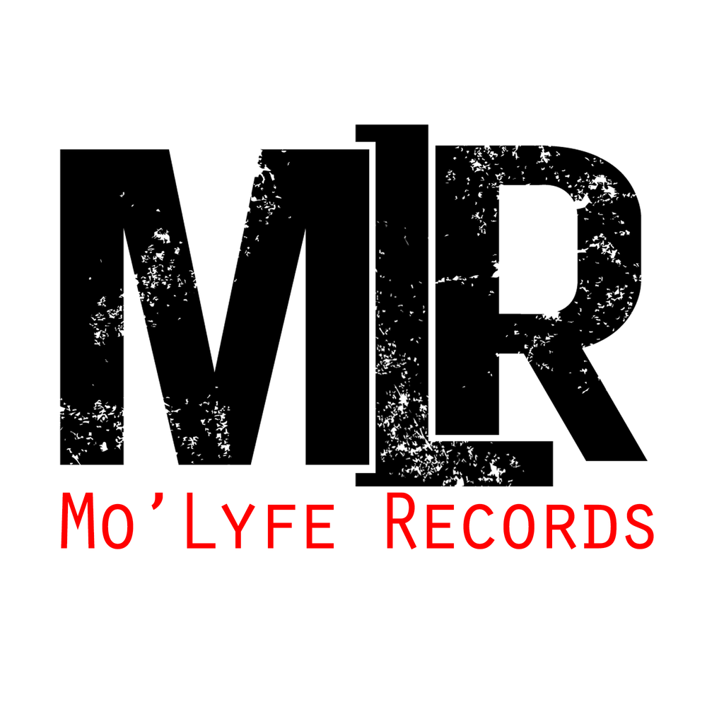 Mo'LifeRecords Logo Design with red font and white background.png