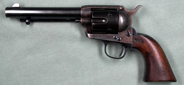 Colt Single Action Army revolver (Wikipedia)