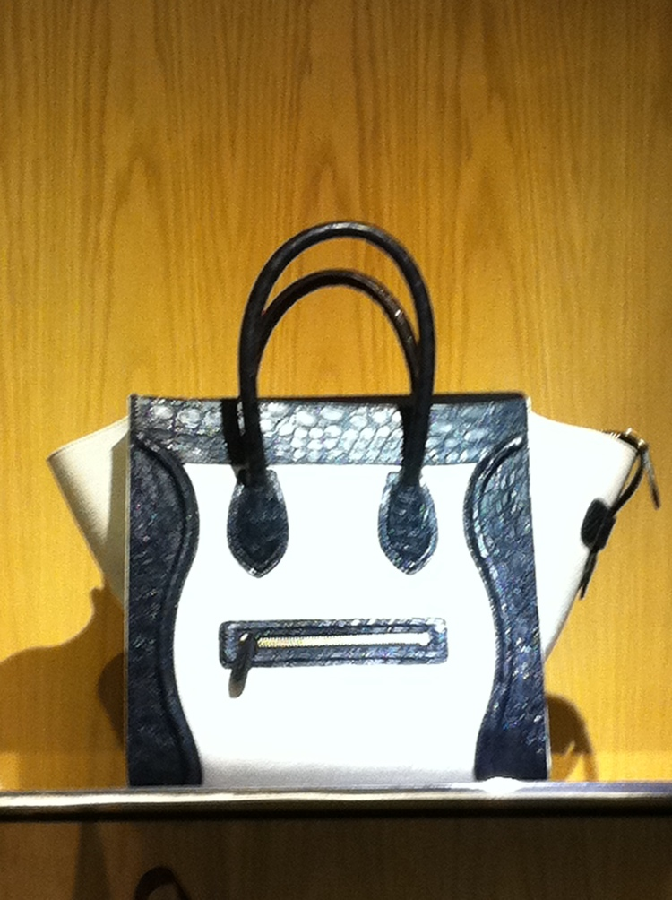 Celine Face, Bloomingdale's, NYC